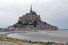 Mont Str. Michel in Normandie Stockfoto