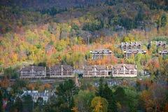 Mont-Tremblant,魁北克,加拿大 免版税库存照片
