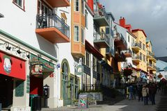 Mont-Tremblant, Κεμπέκ, Καναδάς Στοκ Εικόνα