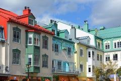 Mont-Tremblant, Κεμπέκ, Καναδάς Στοκ Εικόνες