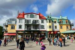 Mont-Tremblant, Κεμπέκ, Καναδάς Στοκ εικόνες με δικαίωμα ελεύθερης χρήσης