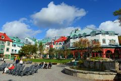 Mont-Tremblant, Κεμπέκ, Καναδάς Στοκ φωτογραφία με δικαίωμα ελεύθερης χρήσης