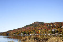 Mont Tremblant in Canada Stock Image