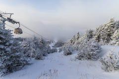 Mont-Tremblant ciężka zima Obrazy Royalty Free