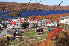Mont Tremblant en automne, Québec, Canada photographie stock libre de droits