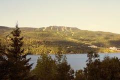 Mont-Tremblant en el verano Fotos de archivo libres de regalías