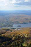 Mont Tremblant with Fall Foliage, Quebec, Canada Stock Image