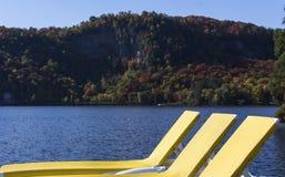 Mont-Tremblant lak-Superieur, Quebec, Canada Stock Foto