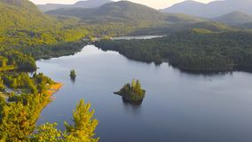 Mont Tremblant National Park stock footage