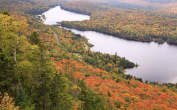 Mont Tremblant National Park in autunno Immagini Stock