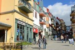 Mont-Tremblant, Quebec, Canadá Fotos de archivo
