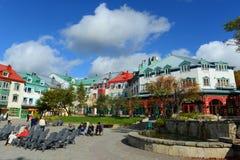 Mont-Tremblant, Quebec, Canadá Foto de archivo libre de regalías