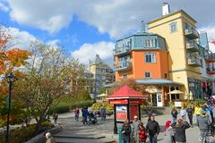 Mont-Tremblant, Quebec, Canada Royalty Free Stock Photos