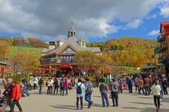Mont-Tremblant, Quebec, Canada Stock Photo