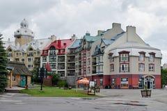 Mont-Tremblant, Quebec, Canada fotografia stock