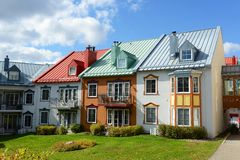 Mont-Tremblant, Quebec, Canada stock photos