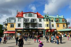 Mont-Tremblant, Quebec, Canada royalty free stock images