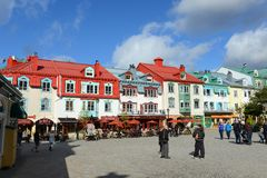 Mont-Tremblant, Quebec, Canada stock photography