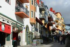 Mont-Tremblant, Quebec, Kanada Stockbild