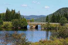 Mont Tremblant. Scene from a nice lake in Mont Tremblant, Quebec Stock Photos