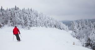 Mont-Tremblant Ski Resort, Quebec, Canada immagini stock libere da diritti