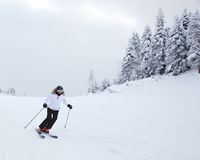 Mont-Tremblant Ski Resort, Quebec, Canada Fotografia Stock Libera da Diritti