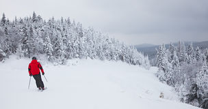 Mont-Tremblant Ski Resort, Quebec, Kanada Lizenzfreie Stockbilder
