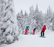 Mont-Tremblant Ski Resort, Quebec, Kanada Lizenzfreie Stockfotos