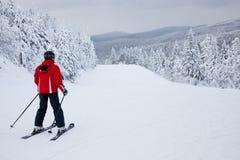 Mont-Tremblant Ski Resort, Quebec, Kanada Royaltyfri Fotografi