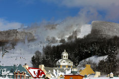 Mont Tremblant Ski Resort Stock Image