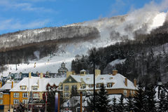 Mont Tremblant Ski Resort Royalty Free Stock Photography