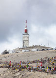 Mont Ventoux-环法自行车赛2013年 免版税库存照片