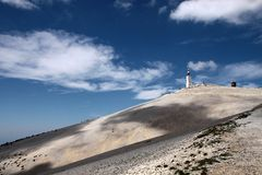 Mont Ventoux Royalty Free Stock Photography