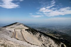 Mont Ventoux Royalty Free Stock Photo
