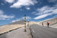 Mont Ventoux Photos stock