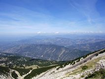 Mont Ventoux Stock Photo