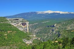 Mont Ventoux Royalty-vrije Stock Afbeeldingen