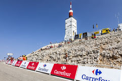 Mont Ventoux Fotos de Stock Royalty Free