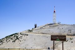 Mont Ventoux de Provence Frankrijk Royalty-vrije Stock Afbeelding