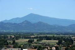 Mont Ventoux near Orange. On france Royalty Free Stock Photography