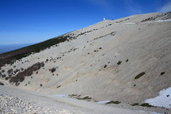Mont ventoux in Provence, France Stock Photo