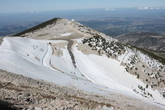 Mont ventoux in Provence, France Stock Image