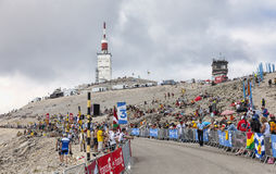 Mont Ventoux- Tour de France 2013 Royaltyfri Bild
