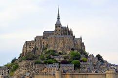 Mont ?wi?tobliwy Michele, Francja -, Normandy Dziedzictwo, fortyfikacja zdjęcia royalty free