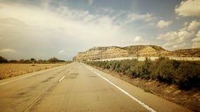 Montaña de la estafa de Carretera Fotografía de archivo