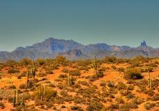 Montaña 107 del desierto Imagenes de archivo