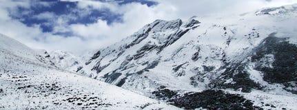 Montaña Aba China de la nieve Imágenes de archivo libres de regalías