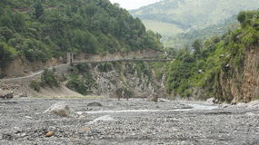 Montaña Abbottabad foto de archivo