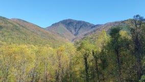 Montaña ahumada Foto de archivo