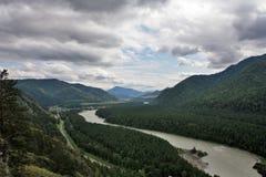 Montaña Altai foto de archivo